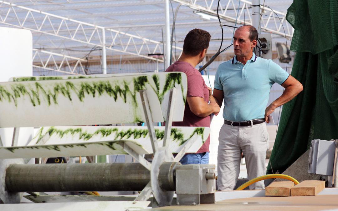 Eduardo Portillo – Jefe del área de biotecnología del Instituto Tecnológico de Canarias
