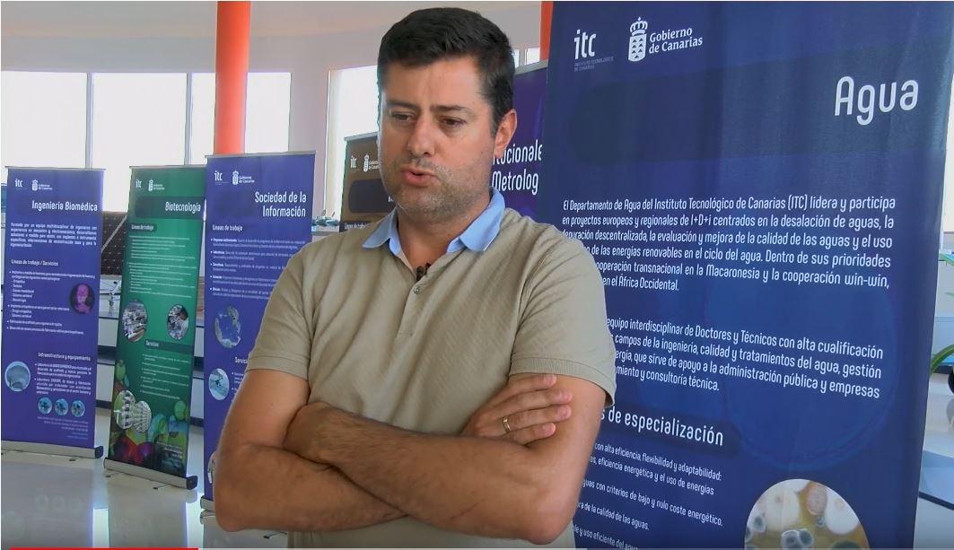 Baltasar Peñate – Jefe del área de agua del Instituto Tecnológico de Canarias