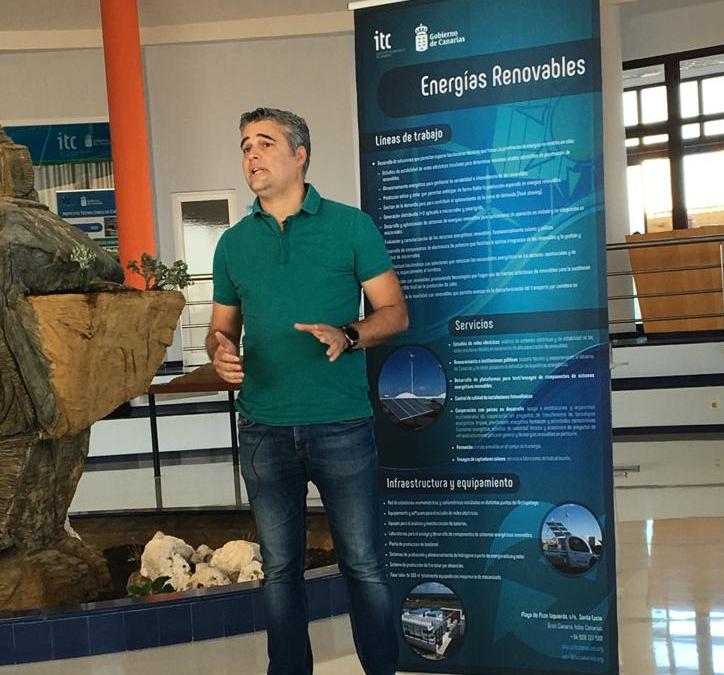 Daniel Henríquez – Jefe de sección de energías renovables del Instituto Tecnológico de Canarias